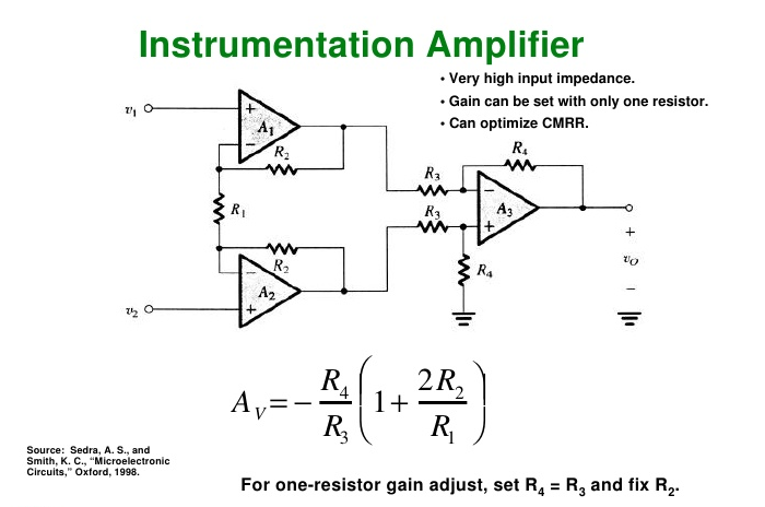 circuit diagram of non inverting amplifier cable wiring house introduction to operational amplifiers with ltspice learn sparkfun com the instrumentation perfectly combines all previous material and in cascade