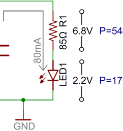 led circuit with current limiting resistor [ 1121 x 868 Pixel ]