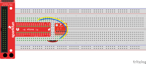 small resolution of fritzing diagram of using a pi wedge to connect to a tmp102 temperature sensor