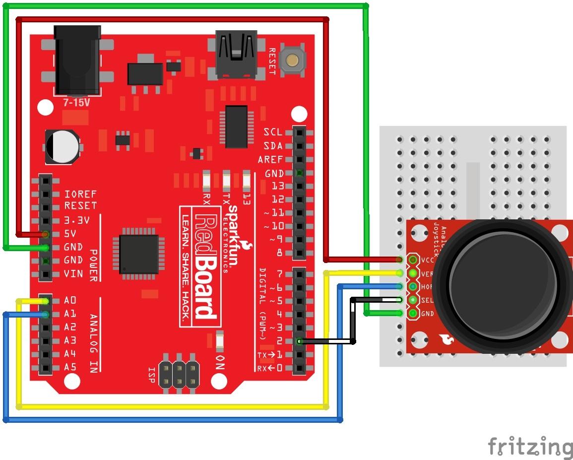 hight resolution of thumb joystick circuit arduino