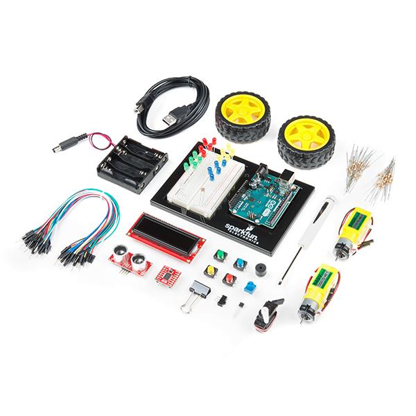 KIT-14418 SparkFun Inventor's Kit for Arduino Uno - | 臺灣 MakeHub