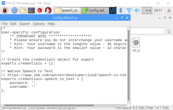 Config.default.js dosyası