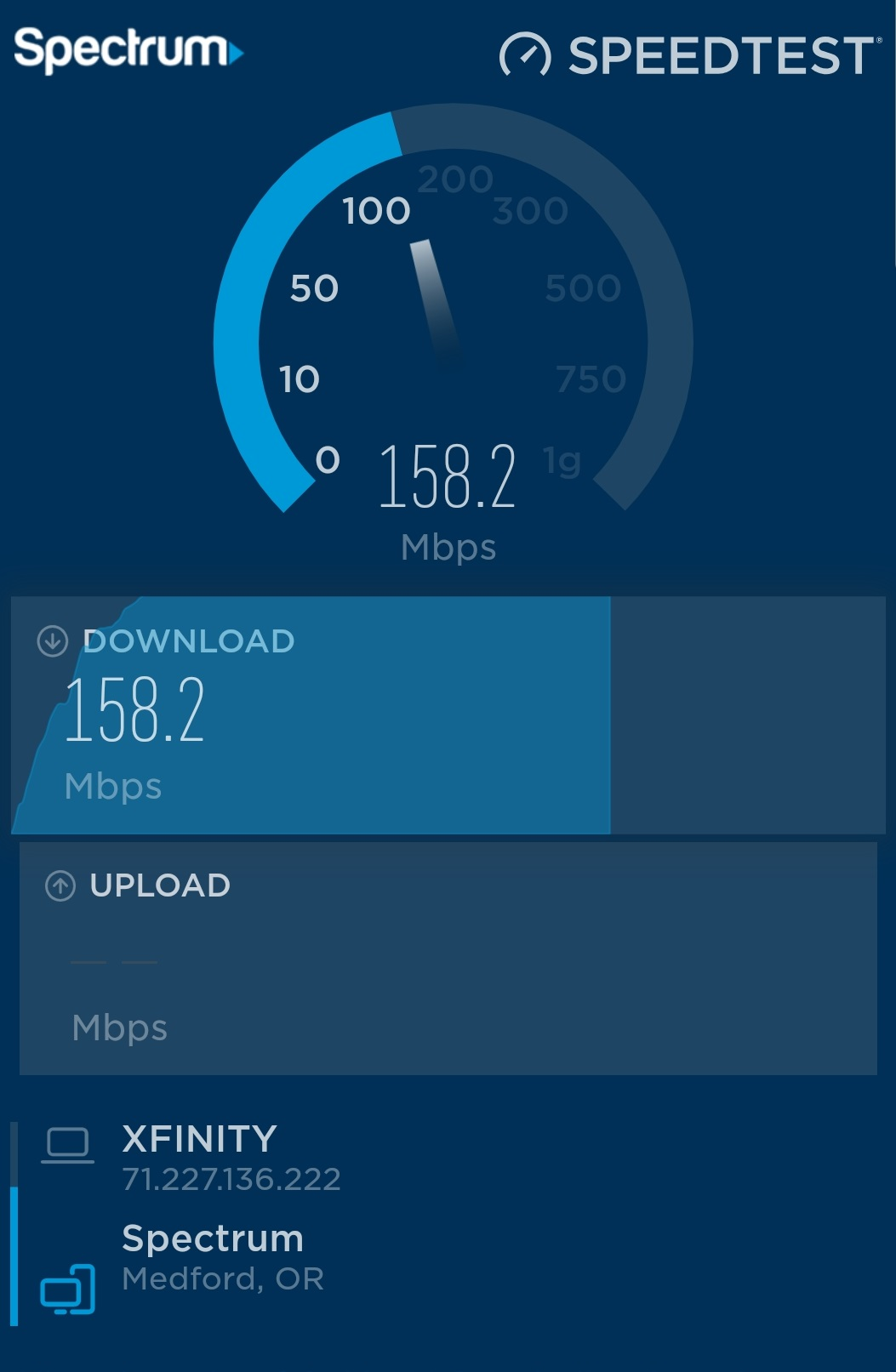 Good Speed Test Results For Internet