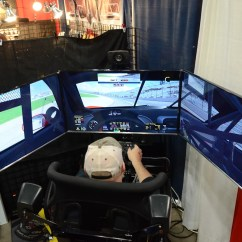 Racing Simulator Chair Hydraulic Uk Office Back Support For Pregnancy The 2016 Race And Performance Expo Biggest One Yet