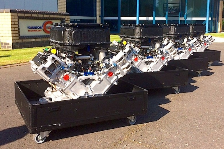 Gibson Delivering 2017 Spec LMP2 Engine