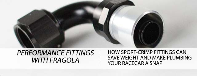 Performance Plumbing With Fragolas SportCrimp Fittings