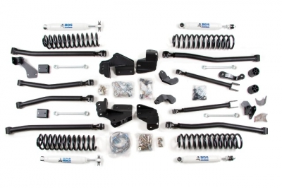 """BDS Suspension Boosts 2014 Jeep JK/JKU 2"""" to 6.5"""" With New"""