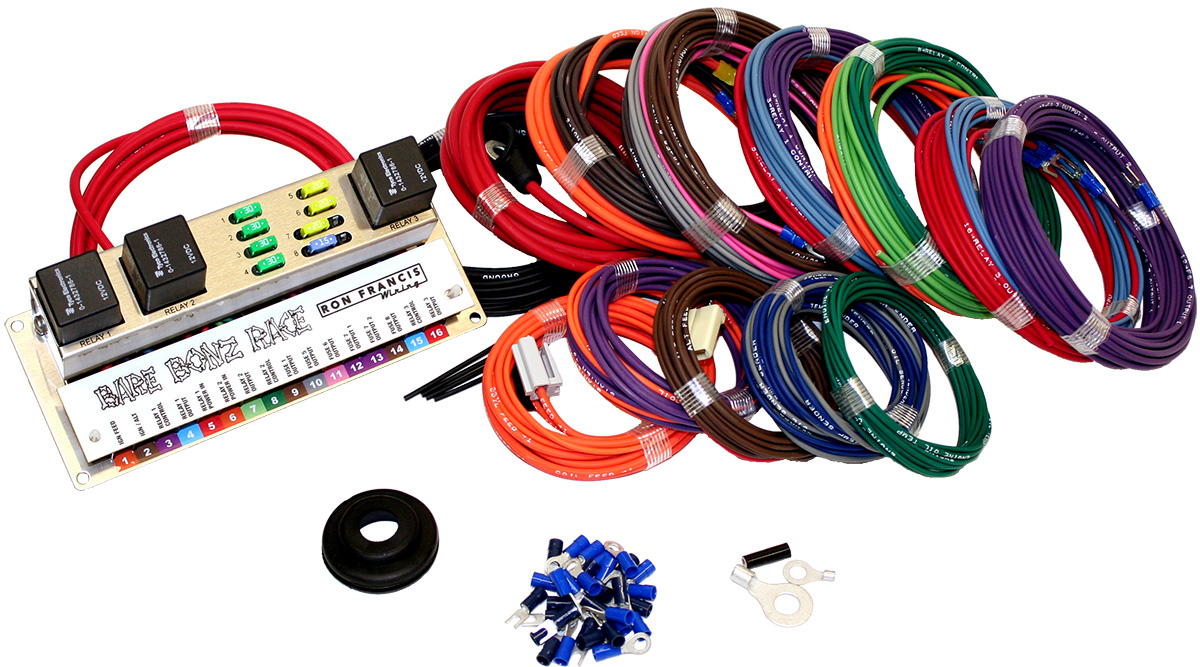 In Depth With Ron Francis' New Bare Bonz Race Car Wiring Kit