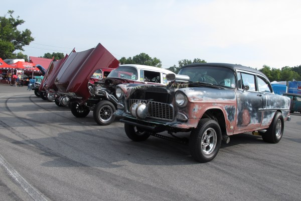 Tri Five Chevy Gasser - Year of Clean Water