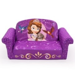 Disney Princess Flip Out Sofa Leather Sectional Sofas Ashley Furniture Spin Master Marshmallow Open Sofia