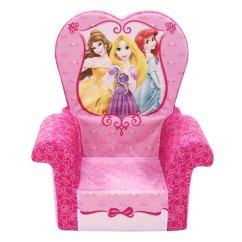 Disney Princess Chair Lane Desk Leather Spin Master Marshmallow Furniture High Back