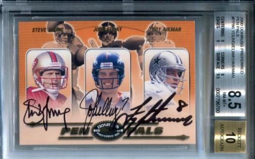 Troy Aikman Card Player