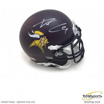 Xavier Rhodes Memorabilia Autographed Signed