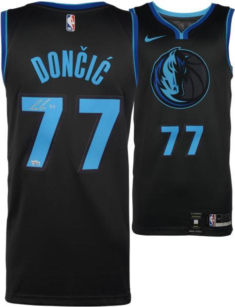 a157eae1d2d Luka Doncic Dallas Mavericks Autographed 2018 - 2019 City Edition Nike  Swingman Jersey - Fanatics Authentic Certified ...