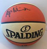 2cd9de5622d A'ja Wilson Las Vegas Aces signed Full Size WNBA Basketball Ball ...