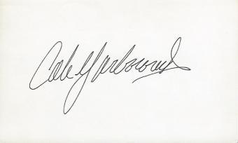 Cale Yarborough Racing Memorabilia, Signed & Autographed