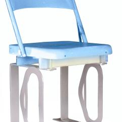 Blue Metal Chairs Double Lawn Chair With Cooler Daytona International Speedway