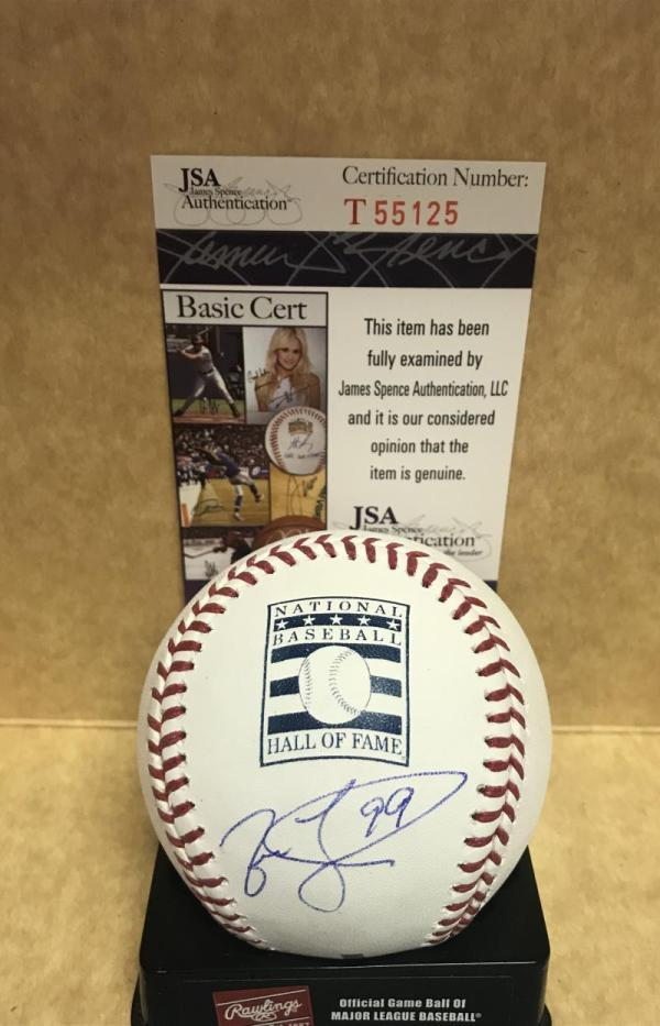 Jason Taylor Dolphins Hall Of Fame Signed Baseball Jsa T55125 - Authentic Autographed