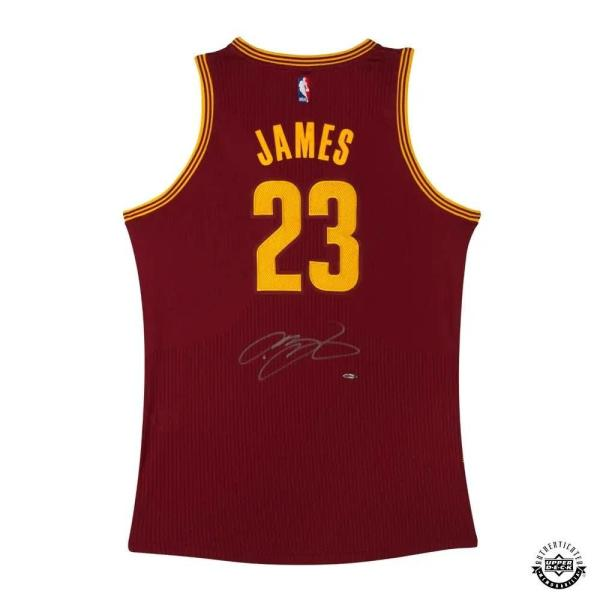Signed Lebron James Jersey - Adidas Road Authentic