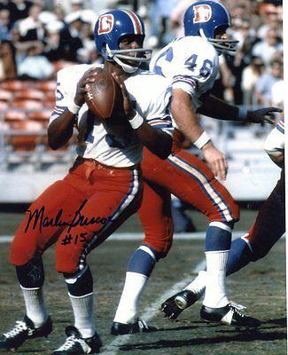 Marlin Briscoe Signed Photograph - #15 Qb 8x10