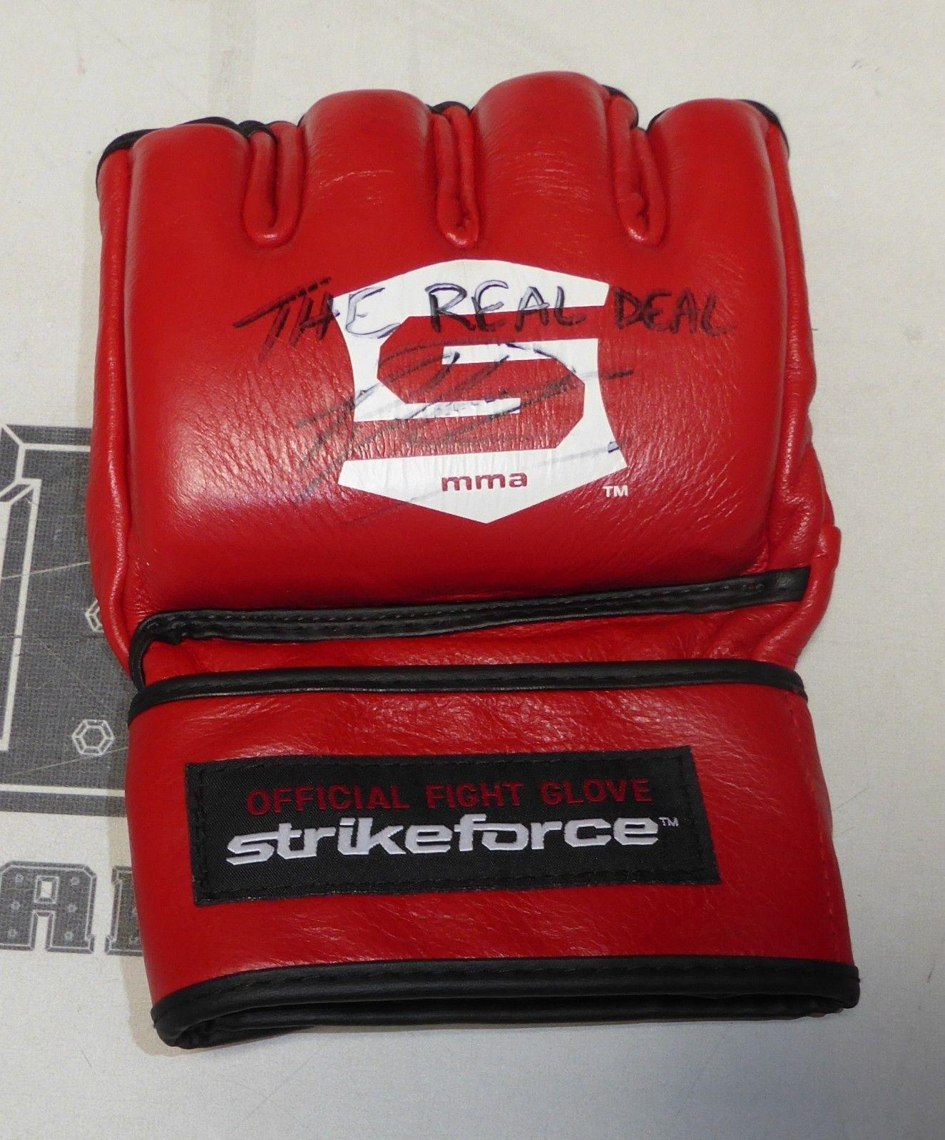 Raymond Daniels Signed Official StrikeForce MMA Fight