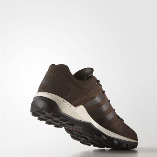 Adidas Daroga Leather Mens Brown Water Resistant