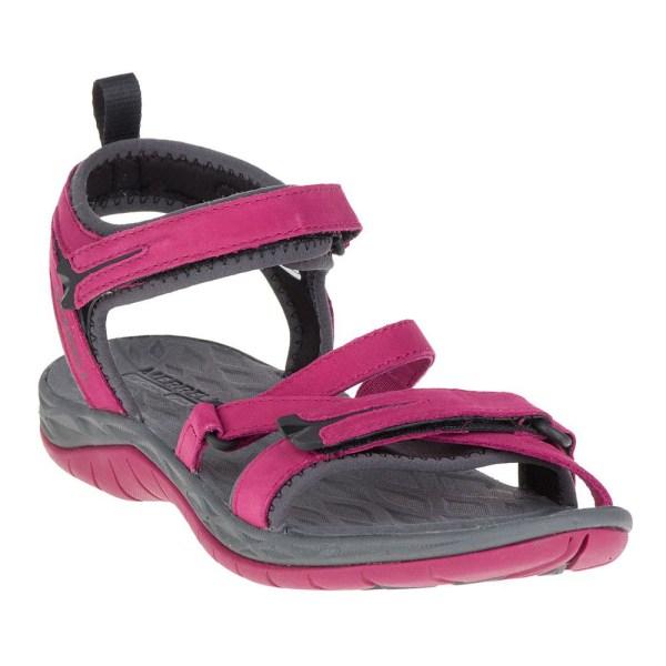 Merrell Siren Strap Womens Pink Waterproof Trekking Sandals Summer Shoes