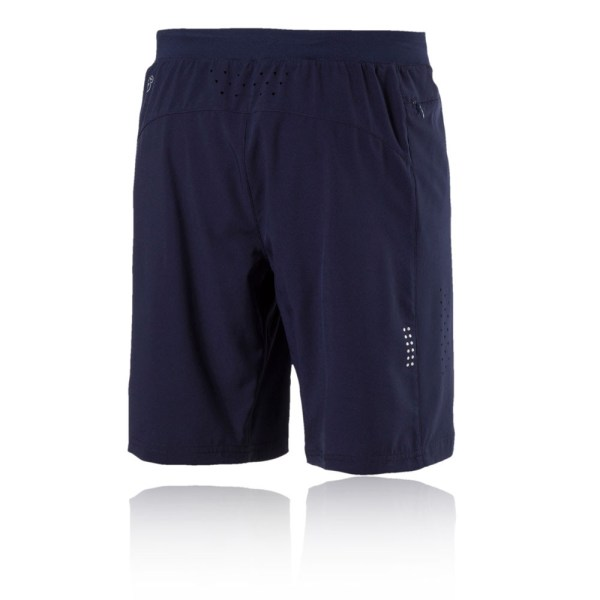 Puma Pwrcool Mens Navy Blue Training Running Shorts Pants