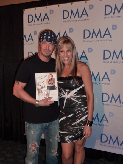 PHOTO: Lilian Garcia With Rock Star Bret Michaels
