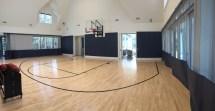 Home Basketball Court Flooring