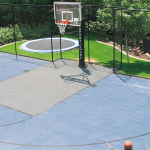Home Basketball Court Backyard Basketball Court Home Gym Flooring Connecticut