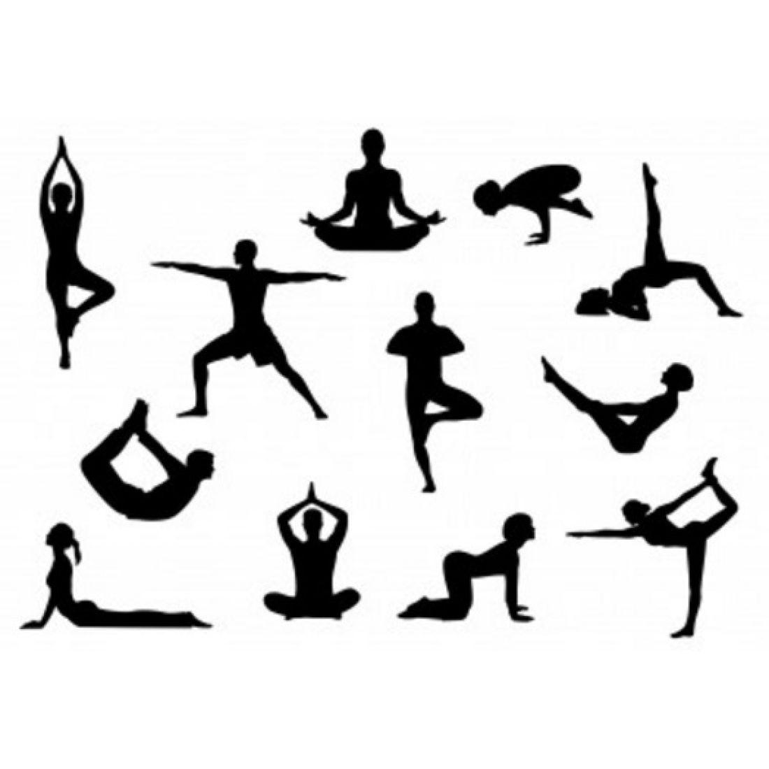 Patchwork Cutter Amp Embosser Yoga Silhouette Set
