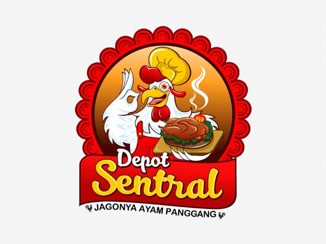 Sribu Logo Design  Desain Logo Untuk Rumah Makan  Sentral