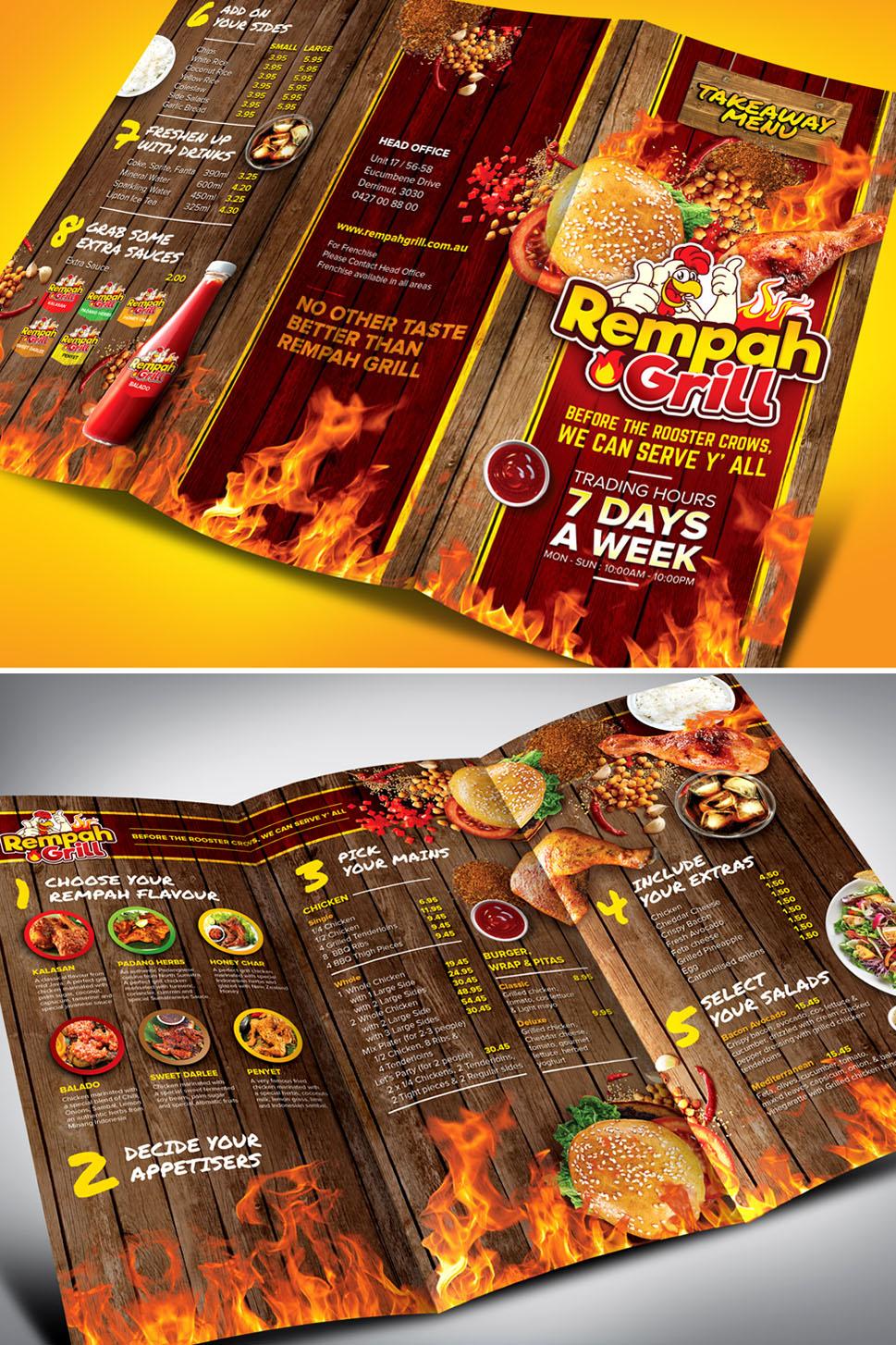 Contoh Brosur Catering : contoh, brosur, catering, Desain, Brosur, Makanan, Minuman, Online, Sribu