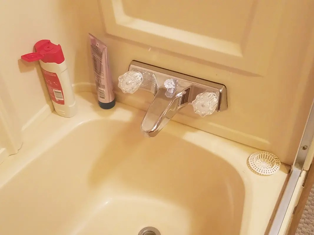 us hardware p 050b chrome tub shower faucet