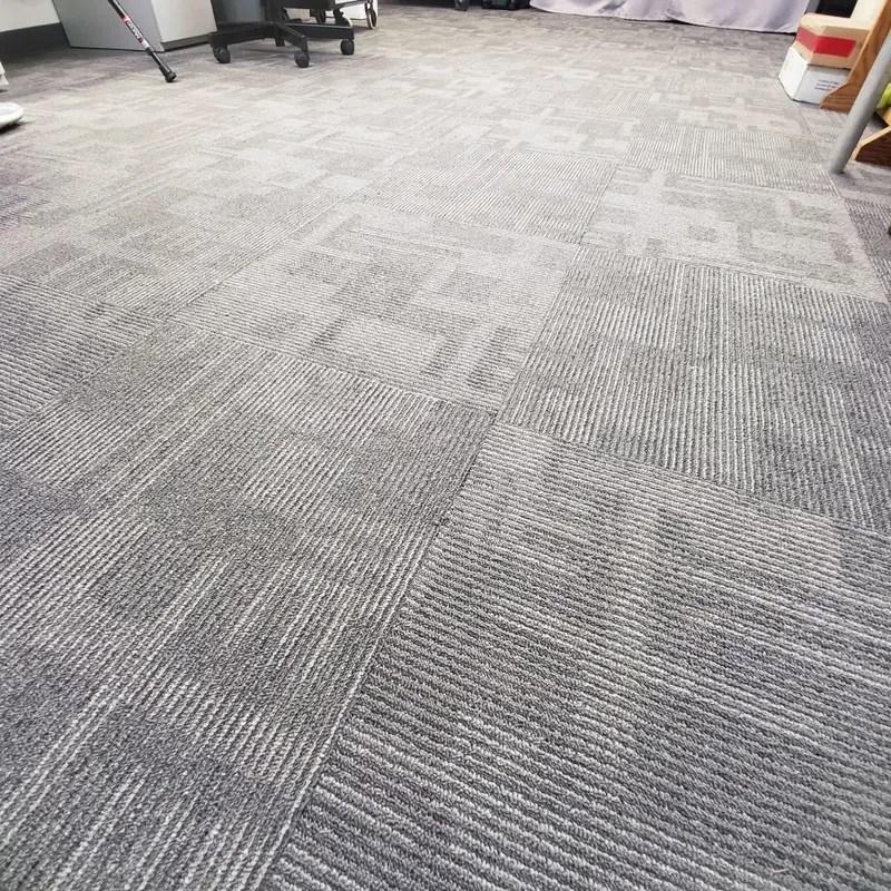 kraus carpet tile glacier dimensions 19 7 x 19 7