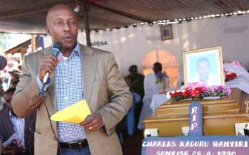 Ex-Tetu MP fails to plead to charges of estate forgery after falling ill