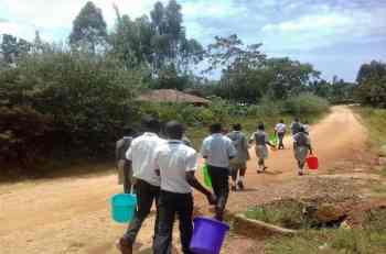 Pupils in Kericho School sent home to fetch water