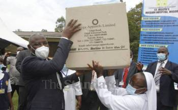 Big boost as key hospitals in Migori to benefit from Equity's PPEs for 18 months
