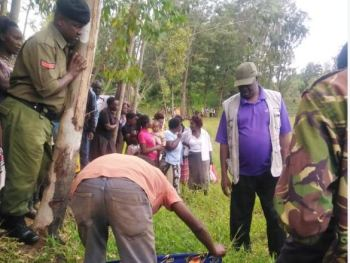 Body of class three pupil retrieved from swamp