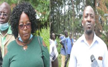 Murunga's widow, son to face off in election