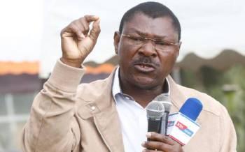 Wetang'ula cracks the whip on rebels in Ford Kenya