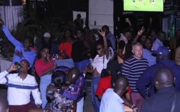 Cheers to good old times as revellers quench their thirst