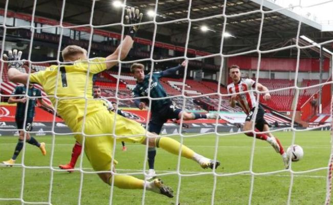Late Bamford Header Gives Leeds Win At Sheffield United The Standard Sports
