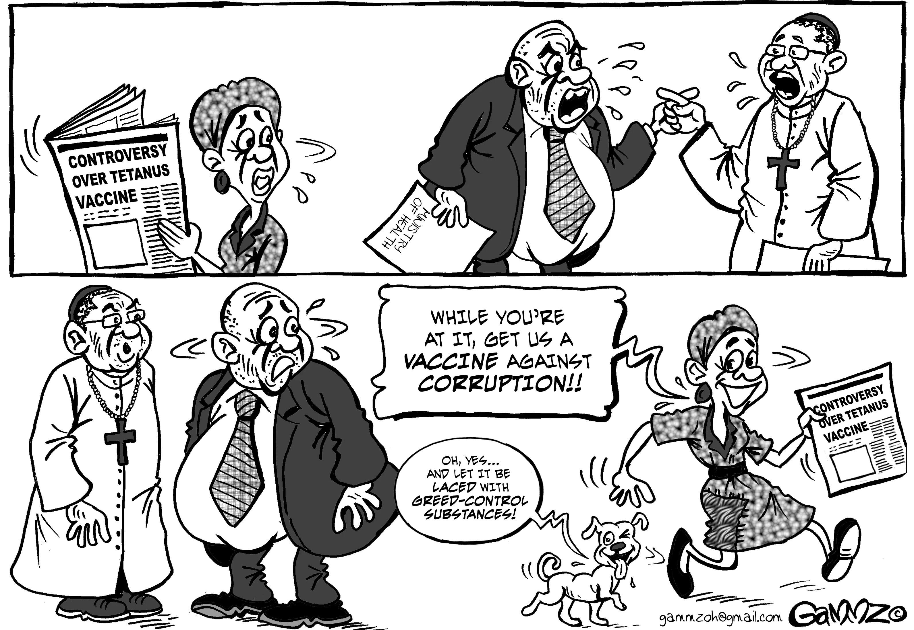 Editorial Cartoon 13th November 2014: The Standard