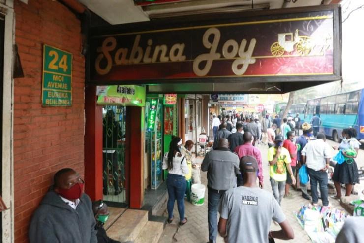 More than 100 Nairobi men flock to Sabina Joy brothel daily to test waters