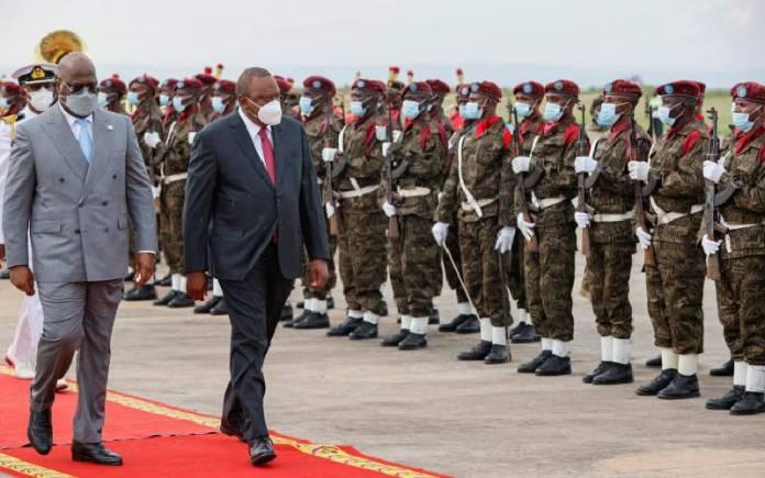 Pgtw9Bqfafqdetmng6607F0Cc680D1D President Uhuru In Kinshasa For Three-Day State Visit