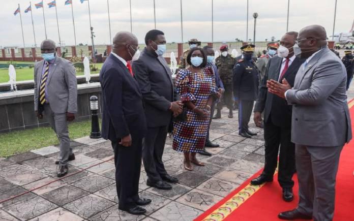 Tczqvwdwb70Sbapsbiv5607F0Cf10C96E President Uhuru In Kinshasa For Three-Day State Visit