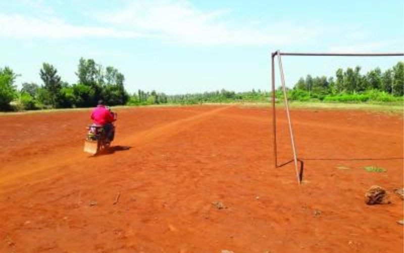 There is hope for Murang'a airstrip where locals grow nappier grass - The Standard