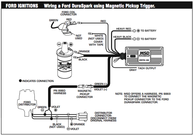 Ignition Wiring Diagram Likewise Msd Hei Distributor Wiring Diagram